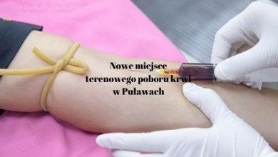 Photo of Terenowy pobór krwi zmienia lokalizację