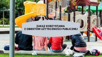 Photo of Zakaz korzystania z obiektów użyteczności publicznej w Puławach