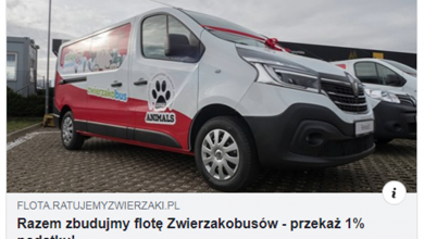 Photo of Zwierzakobus trafi do Puław [VIDEO]