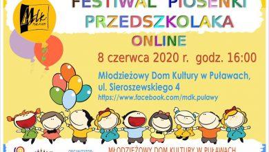 Photo of Festiwal Piosenki Przedszkolaka w tym roku online [VIDEO]