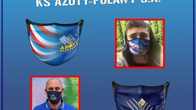 Photo of Maseczki dla kibiców Azotów