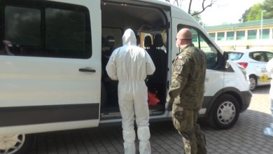 Photo of Terytorialsi pobrali wymazy od pracowników Hospicjum [VIDEO]