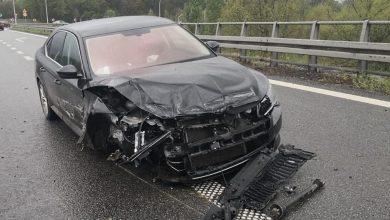 Photo of Opady i prędkość przyczyną wypadku [VIDEO]