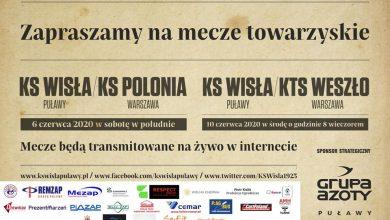 Photo of Wisła Puławy rozegra sparingi