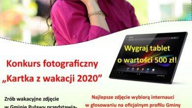 """Photo of """"Kartka z wakacji 2020"""" – konkurs gminy Puławy"""
