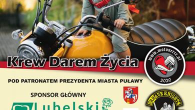 Photo of Motocykliści będą zbierać krew