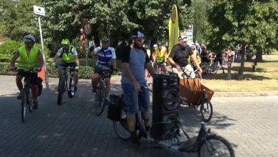 Photo of Ponad 100 rowerzystów przejechało do Parchatki [VIDEO]