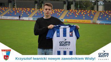 Photo of Krzysztof Iwanicki nową twarzą w Wiśle Puławy