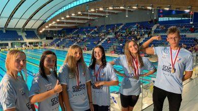 Photo of 10 medali puławskich pływaków