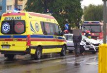 Photo of Niedzielny wypadek na skrzyżowaniu ulic [VIDEO]