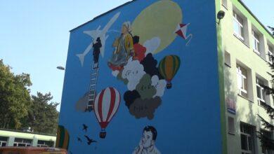 Photo of Pierwszy z dwóch puławskich murali gotowy