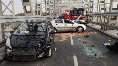 Photo of Wypadek na moście w Puławach [VIDEO]