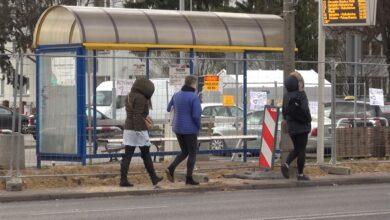 Photo of W Puławach powstają nowe zatoki autobusowe