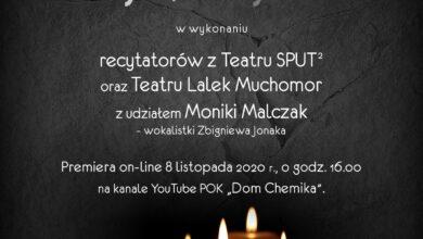 """Photo of """"Dla tych, którzy odeszli"""" – słuchowisko Domu Chemika"""