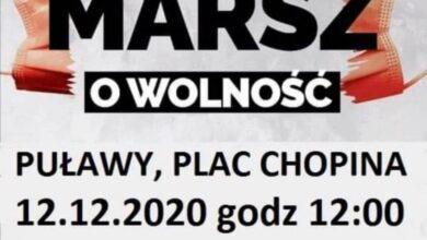 Photo of W Puławach będą protestować przeciw obostrzeniom