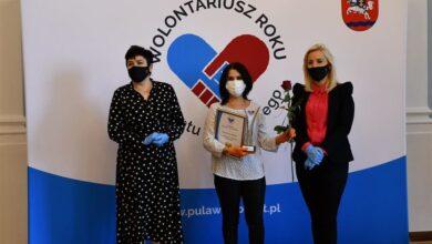 Photo of Wolontariusze nagrodzeni przez starostę