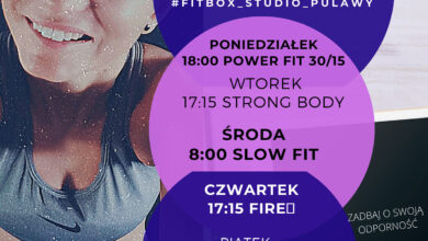 Photo of Puławska siłownia proponuje ćwiczenia on-line