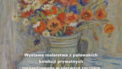 Photo of Kwiaty księdza Malarza – wernisaż online