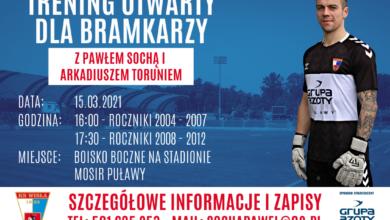 Photo of Wisła zaprasza młodych bramkarzy na trening