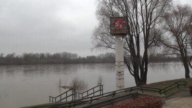 Photo of Wisła w Puławach blisko stanu ostrzegawczego