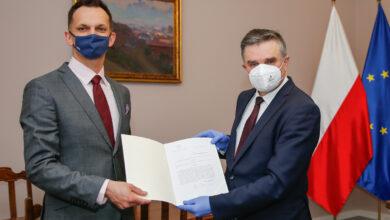 Photo of Kamil Lewandowski pełni funkcję wójta gminy Puławy