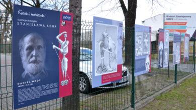 Photo of Kreski i kreseczki. Ilustracje książek Stanisława Lema z Biblioteką Miejską
