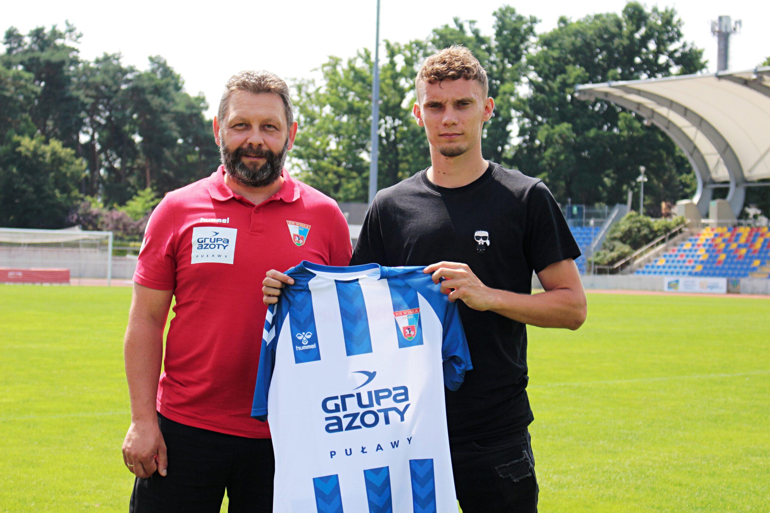 Photo of Kolejny nowy zawodnik w Wiśle Puławy