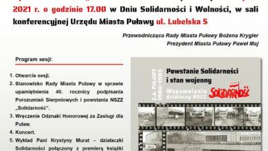 Photo of Rada Miasta uczci rocznicę Porozumień Sierpniowych
