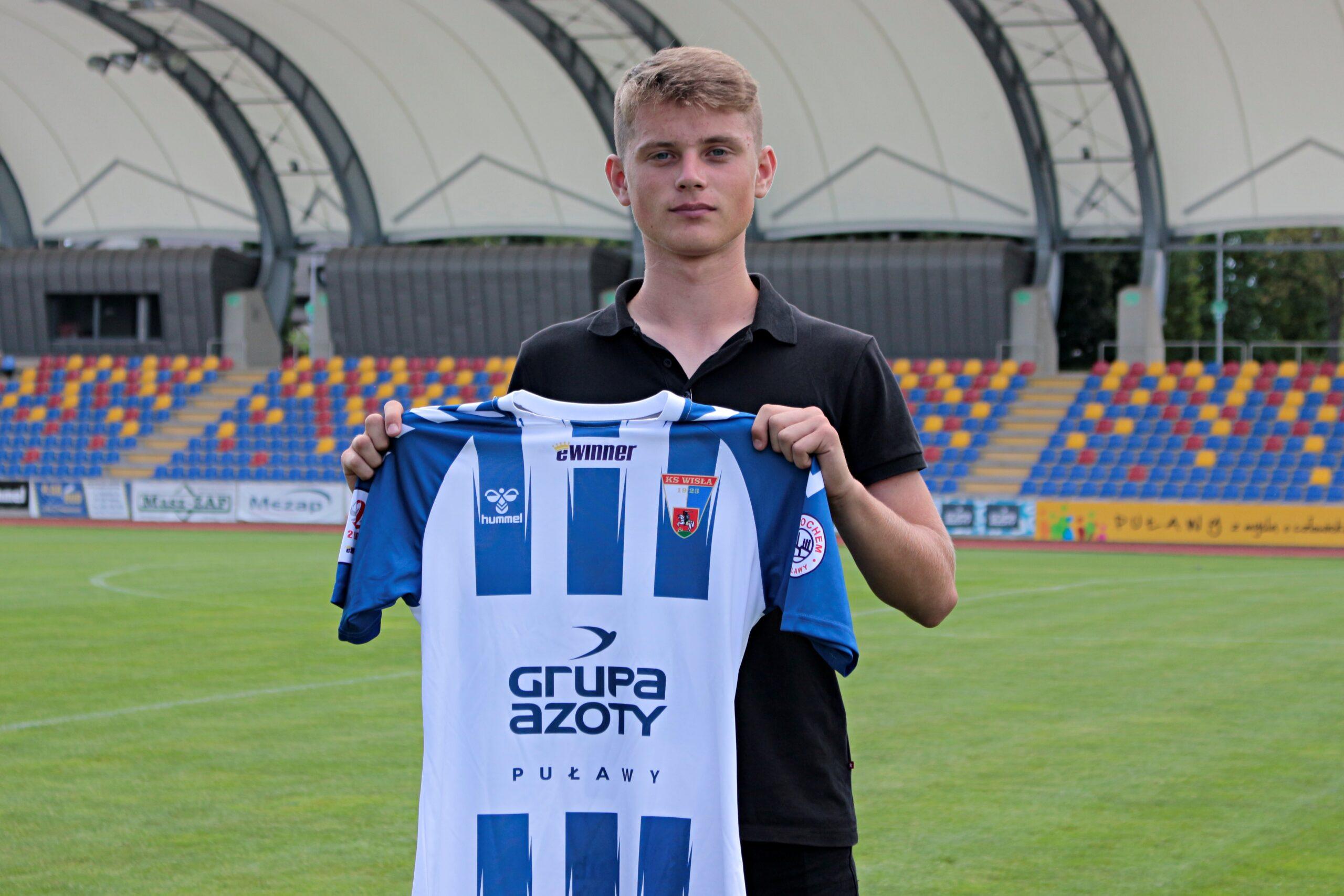 Photo of Michał Ruciński podpisał kontrakt z Wisłą