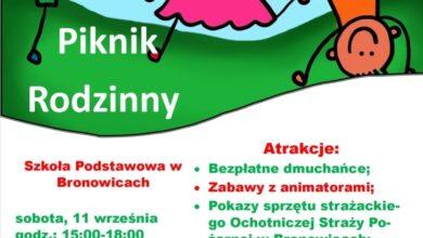 Photo of W Bronowicach odbędzie się piknik rodzinny