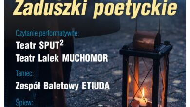 """Photo of """"Zaduszki poetyckie"""" z Domem Chemika"""
